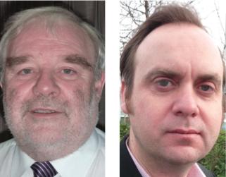 Energy Saving Co-operative founders Bob Burlton and Ewan Jones