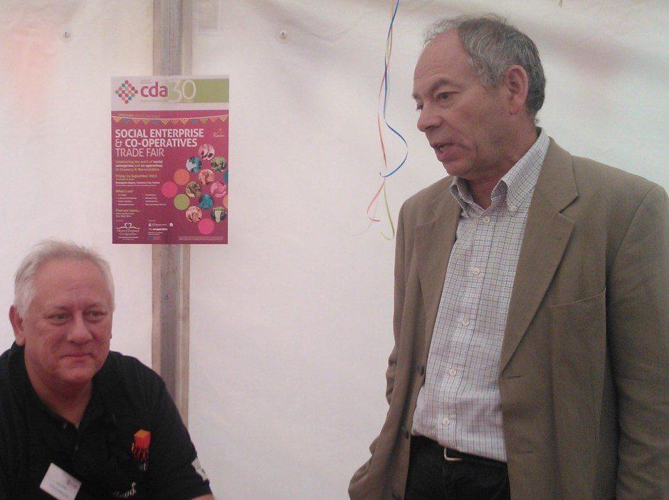 John Boyle and John Goodman talking about coops